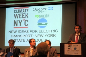 Climate Week NYC - Electric Transportation