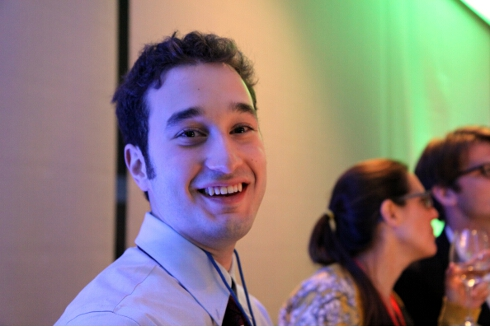 George Haddad, recent Yale graduate and our indefatigable helper