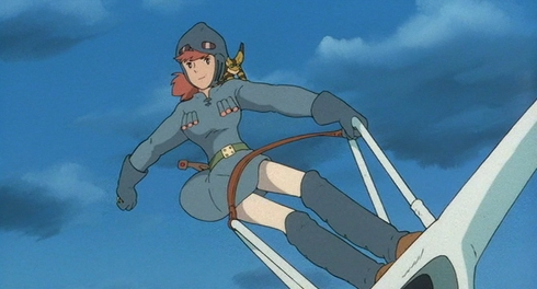 """Nausicaä of the Valley of the Wind"" - Studio Ghibli"