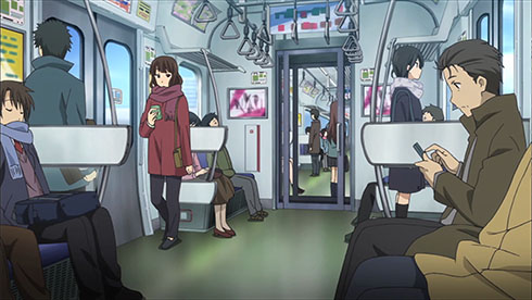 Welcome To This Weeks Review Of Notable Instances Transit Place And Culture As Rendered In Anime Currently Broadcast Japan Simulcast