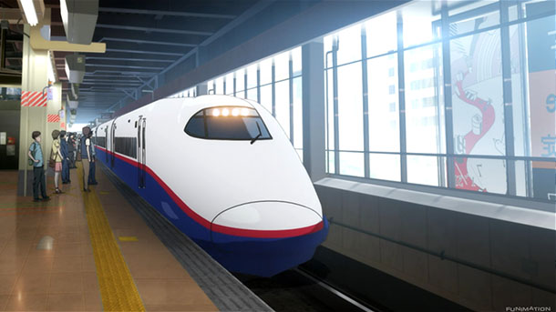 Image result for shinkansen anime