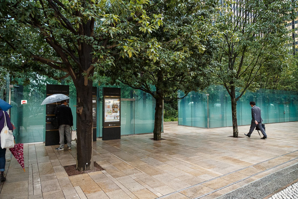 Privately Owned Public Space in Central Tokyo
