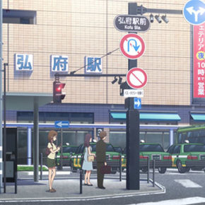 Weekly Review of Transit, Place and Culture in Anime 388